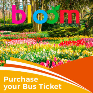 Bloom in the Park – 30th May to 3rd June 2019