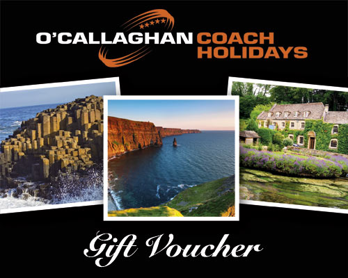O'Callaghan Coaches Gift Voucher