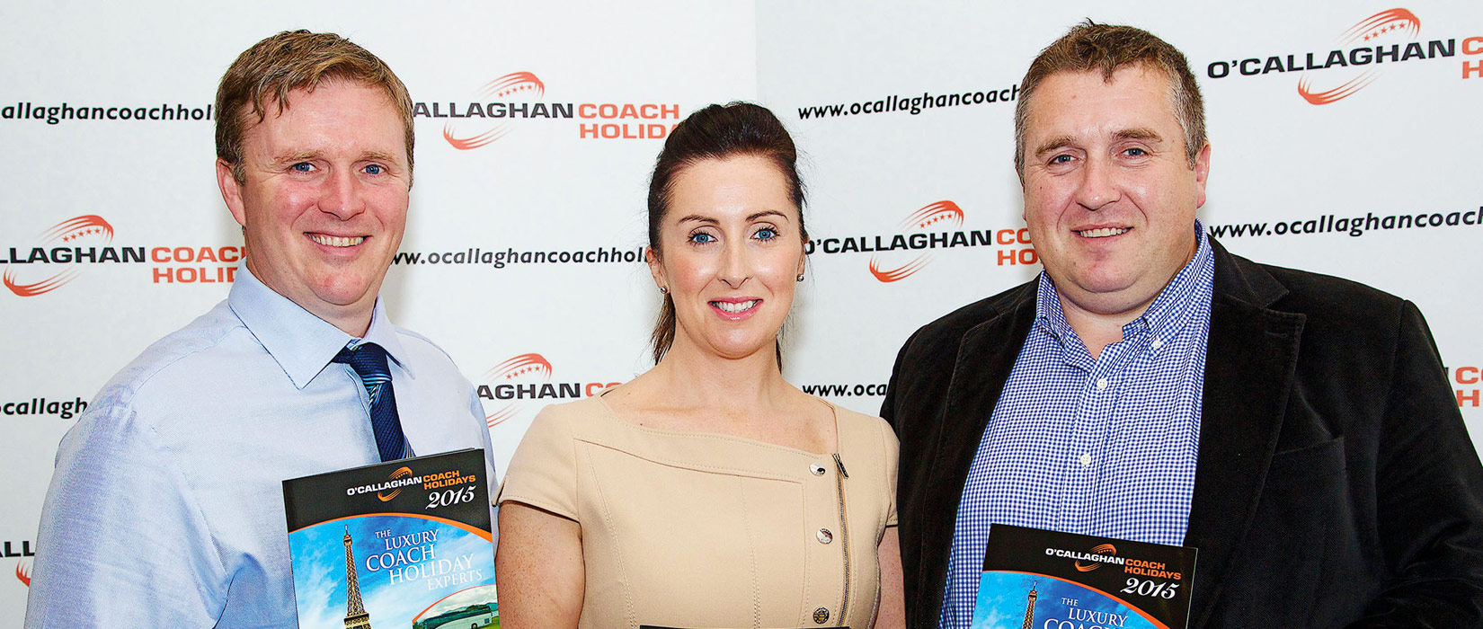Philip, Catriona and Eamon O'Callaghan