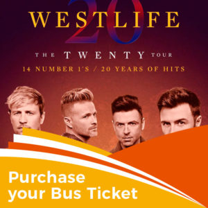 Westlife – 5th & 6th July 2019