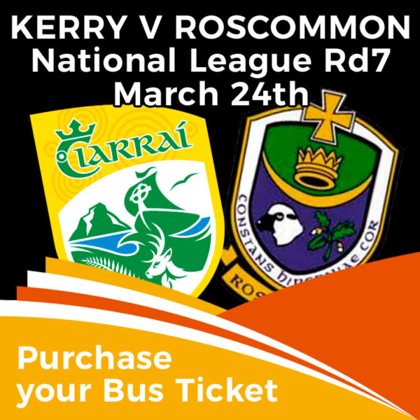 Bus to Kerry Roscommon match