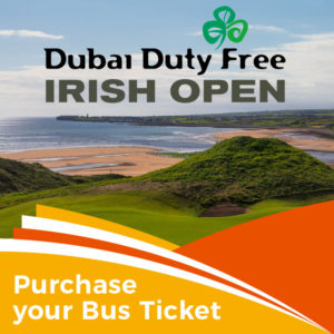 Bus to the Irish Open Golf