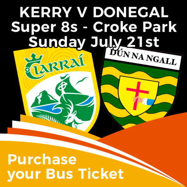 Bus to Kerry v Donegal Croke Park