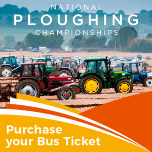 Bus to the National Ploughing Championships