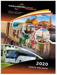 O'Callaghan Coaches brochure 2020