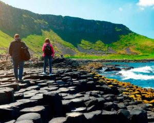 A Walking tour in Northern Ireland