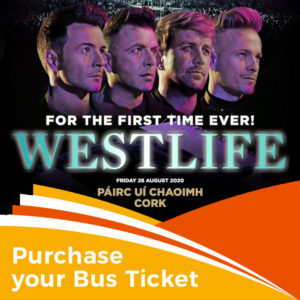 Westlife – Pairc Ui Chaoimh – 28th/29th August 2020
