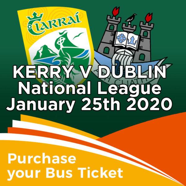 Coach to Kerry v Dublin National League