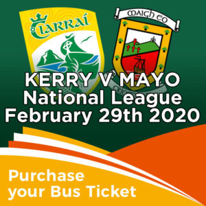 Bus to Kerry v Mayo National League