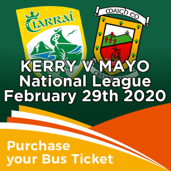 Coach to Kerry v Mayo National League