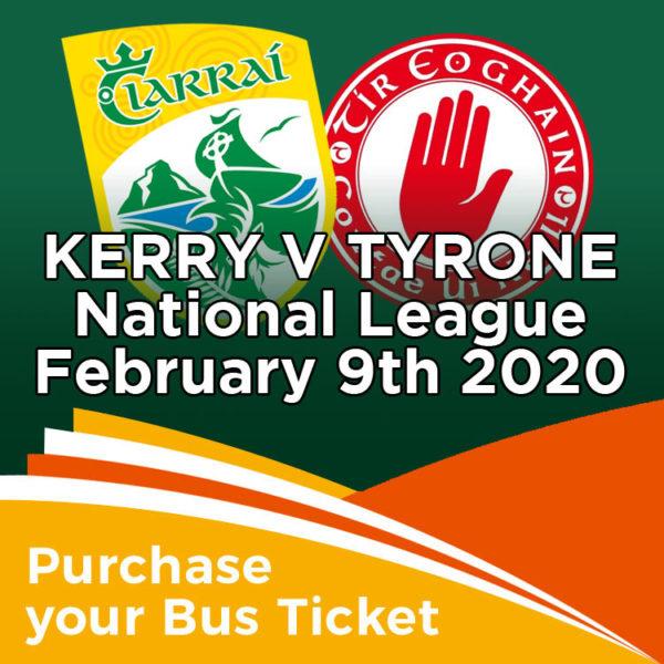 Coach to Kerry v Tyrone National League